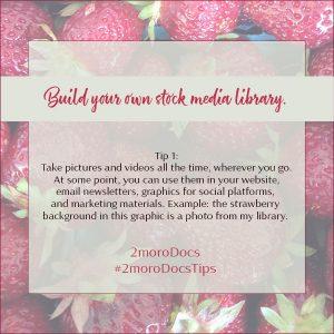 2moroDocs Tips Build Library