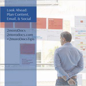 2moroDocs Tips Planning