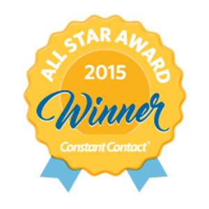 Constant Contact AllStar Award 2015